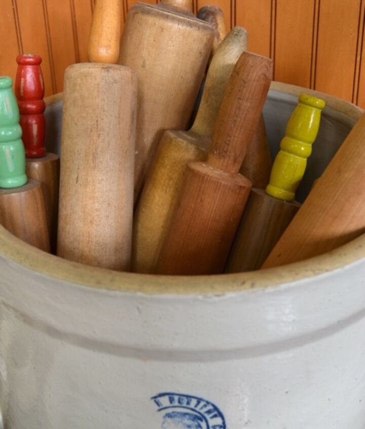 rolling pin collection, home decor