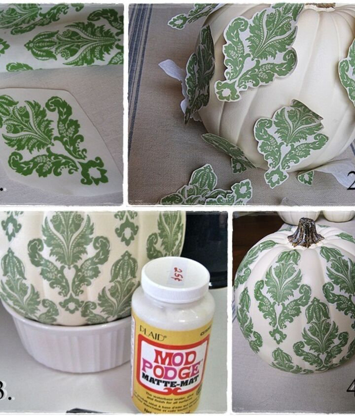I think the damask is my favorite...and is the easiest to do!