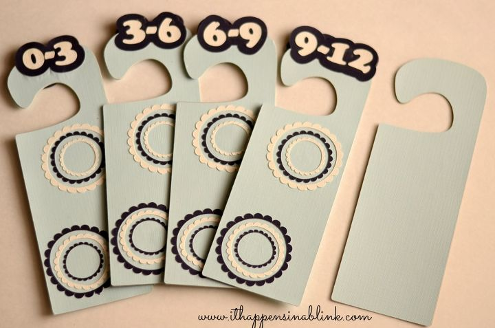 Diy Nursery Closet Dividers Cleaning Tips Crafts