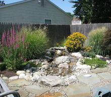 relaxing aquascape pondless waterfall installed in marlton nj, gardening, ponds water features, Pondless Waterfall Marlton NJ