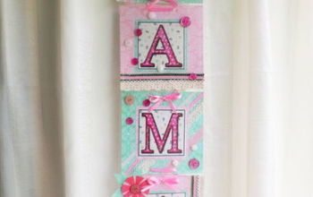 Handmade Mother's Day Banner MAMA From Vintage Mama's Cottage