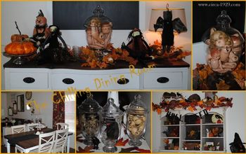 spooky halloween home tour, halloween decorations, seasonal holiday d cor