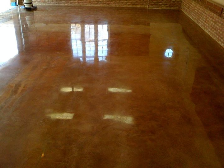 """As nice as it looks, I would not place any """"leakers"""" on this floor as it may leave stains..."""