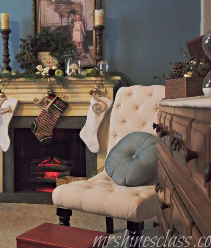 the stockings hung from the chimney with care