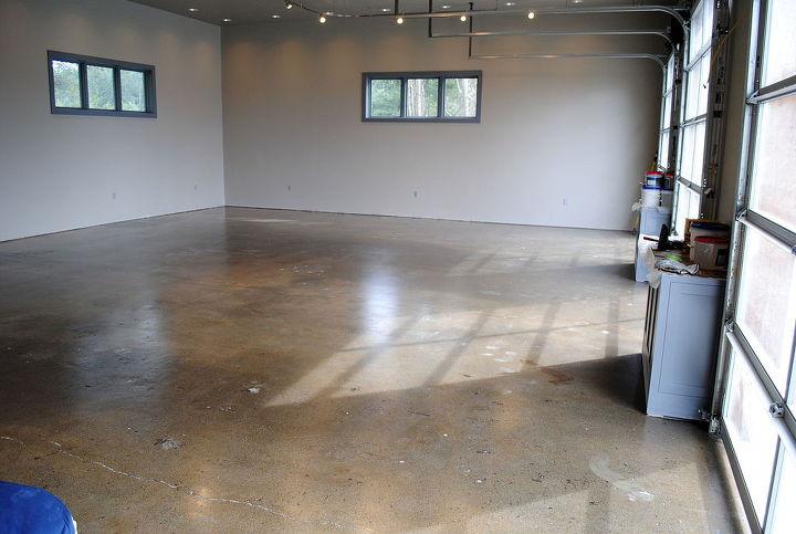 Designer Metallic Epoxy Garage Floor Hometalk
