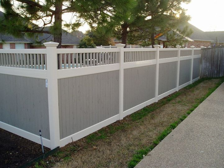 Vinyl Privacy Fence via Future Outdoors