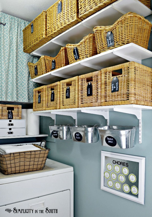 Our home ballard designs taste on a target budget home decor laundry room