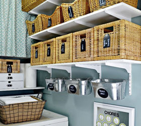 Our Home Ballard Designs Taste On A Target Budget, Home Decor, Laundry Room
