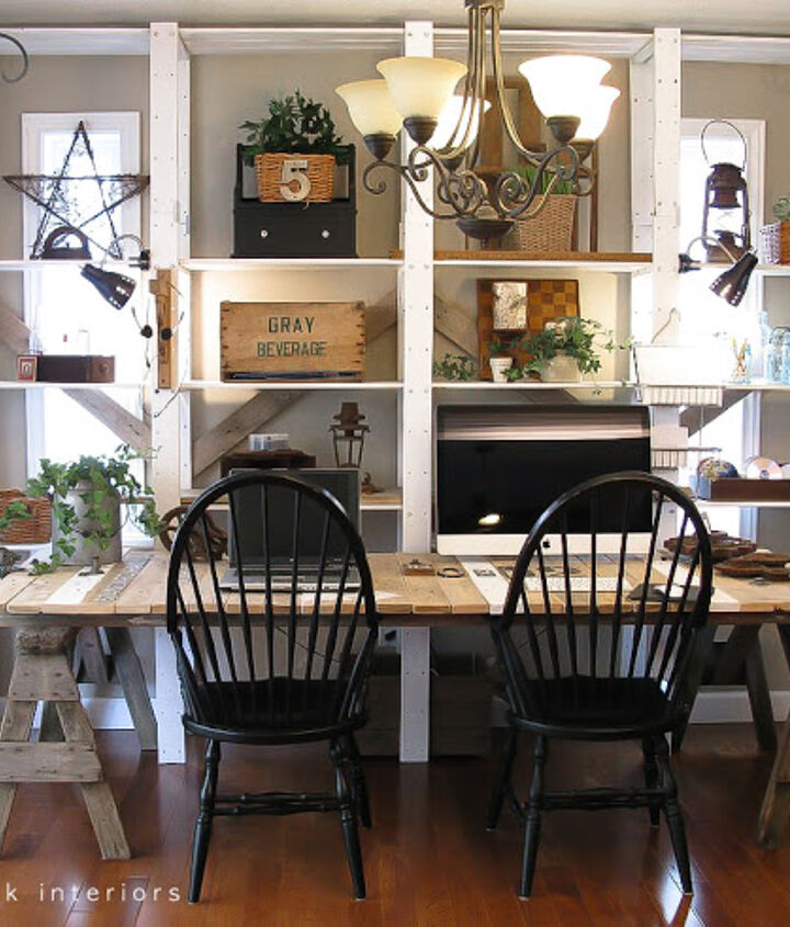 Create an entire wall unit in a few hours! Th