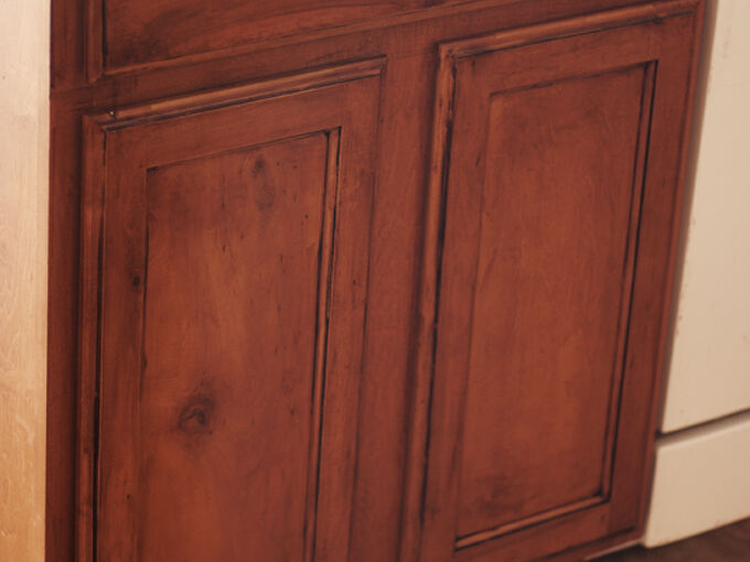 how to glaze cabinets, kitchen cabinets, kitchen design, painting, woodworking projects, Here are my cabinets after glazing