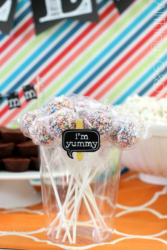 Cake pops are yummy...in case you didn't know.