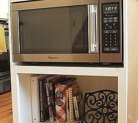 Beau Diy Custom Under Counter Microwave Cabinet, Diy, Kitchen Cabinets, Kitchen  Design, Kitchen