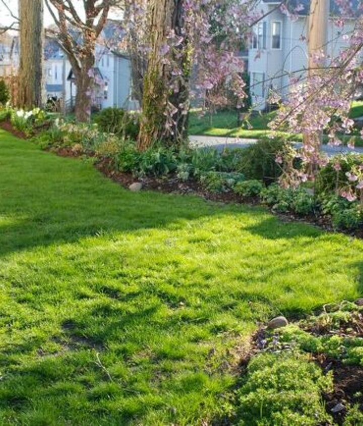 The Circle Lawn and Shade Path sit beside Cherry Corner.