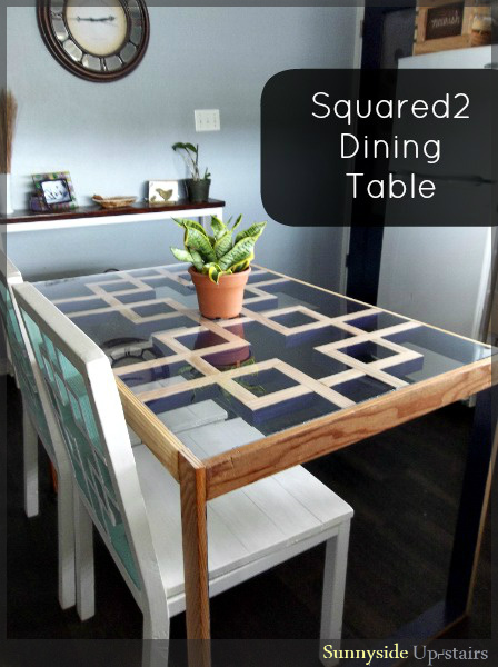 would you paint this table, painted furniture, Natural and dark purple