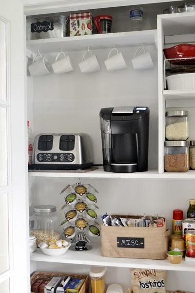 Pantry Coffee Station | Hometalk on