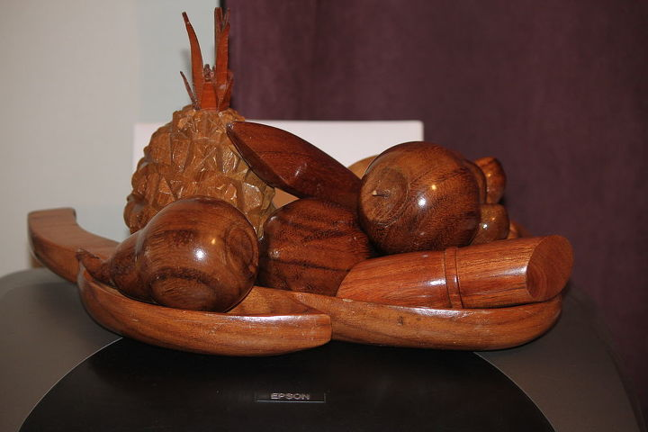 how to update the look of wooden fruit, painting, woodworking projects