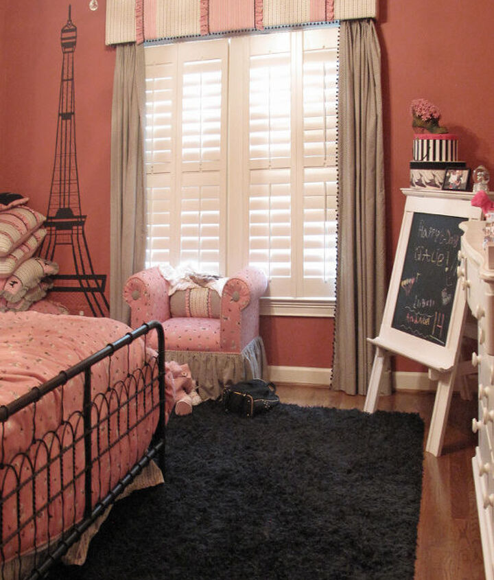 BEFORE . . . the little princess room