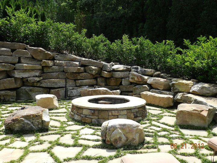 some great fire pit ideas for the season call 770 908 1238, landscape, lawn care, outdoor living