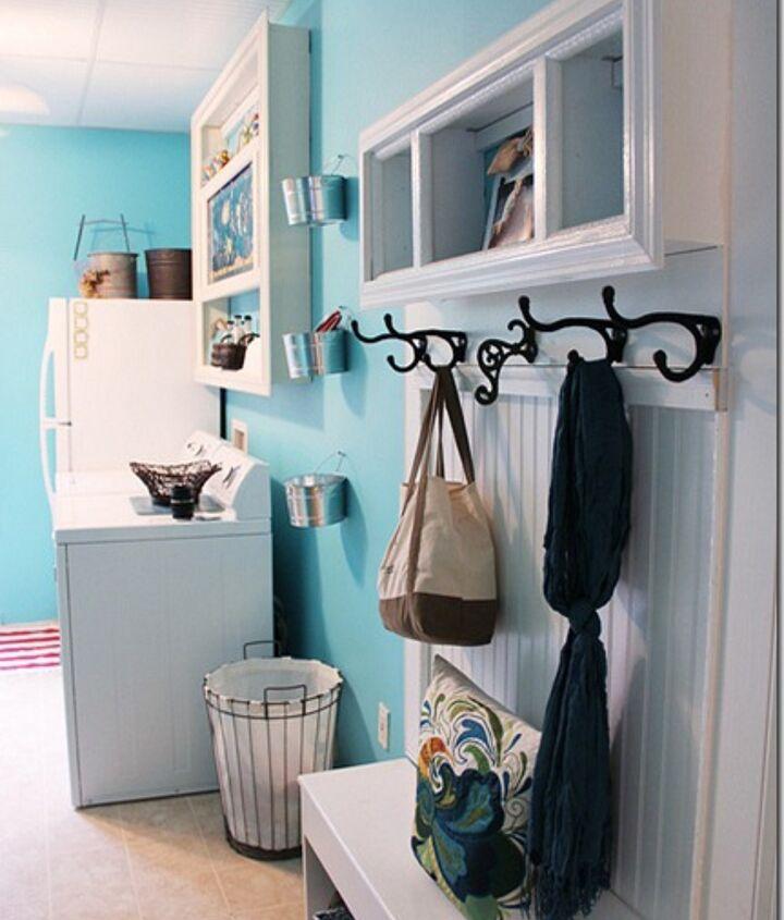 http://www.hometalk.com/459260/happy-aqua-blue-laundry-room-makeover