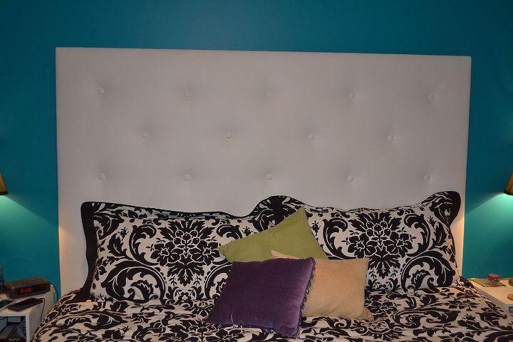 headboard i made, bedroom ideas, crafts, home decor