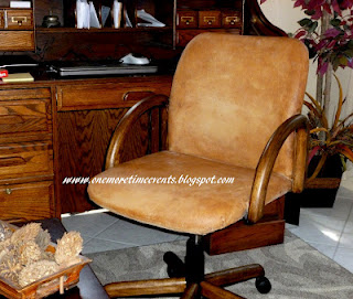 faux leather desk chair makeover hometalk