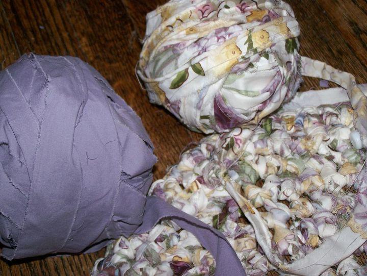 Balls of fabric...