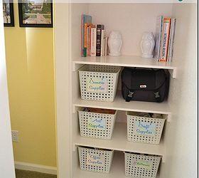 7 simple steps to create cheap easy built in closet storage hometalk rh hometalk com easy built in shelving Easy DIY Built in Shelves