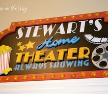 home movie theater, home decor