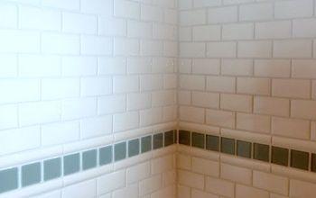 Easy Inexpensive Subway Tile