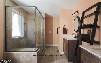 Builder's Grade Bathroom Turned To Showcase Space