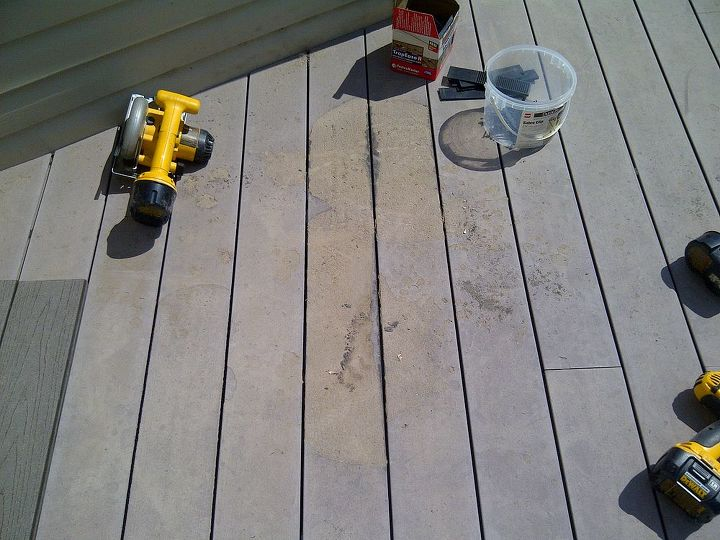 add a grill mat to protect your deck, decks, flooring, home maintenance repairs, outdoor living