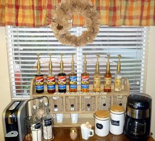 coffee station, kitchen design, repurposing upcycling