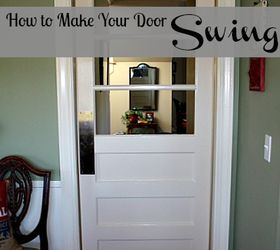 Beau How To Make Your Door Swing, Doors, Painted Furniture, To Make Your Door