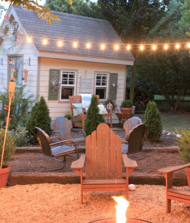 my backyard, outdoor living