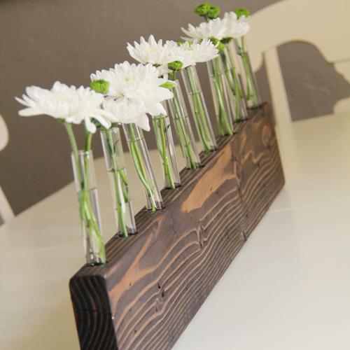 Diy Bud Vase Centerpiece Hometalk