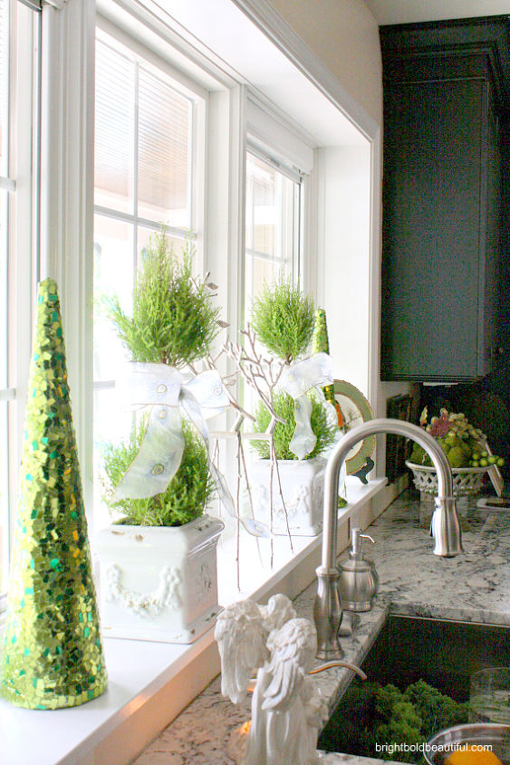 8+ Decorating Ideas in This Holiday Home Tour | Hometalk on ideas to decorate bedrooms, ideas to decorate french doors, ideas to decorate fireplaces, ideas to decorate mirrors, ideas to decorate sliding glass doors,