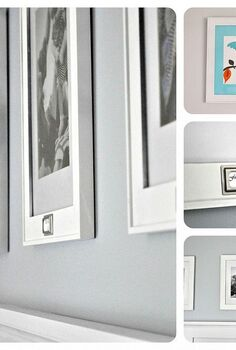 updating dollar store picture frames, crafts