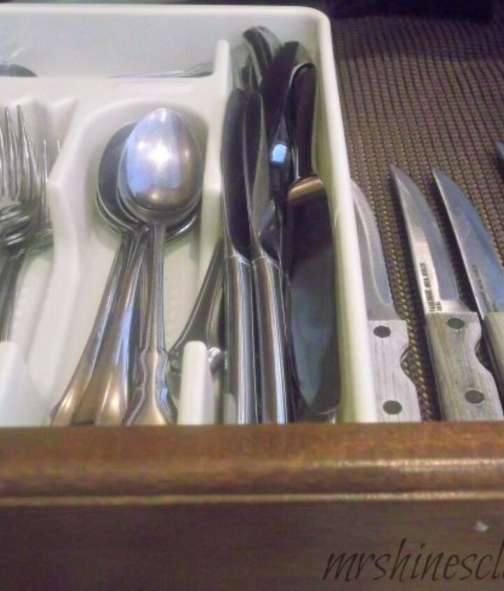 Store utensils in a convenient and logical place.