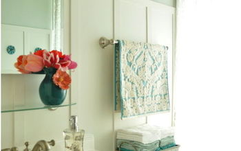 Our light and bright before and after bathroom