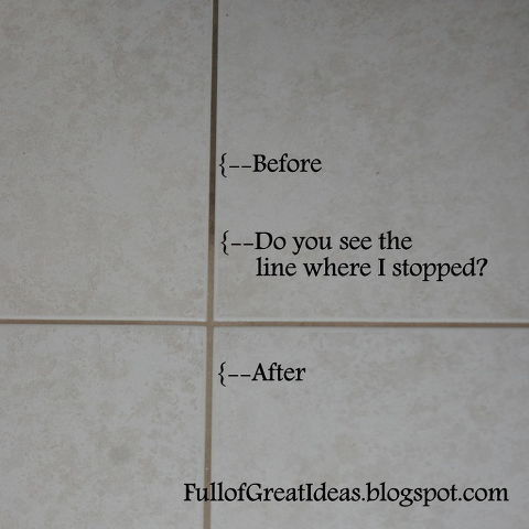 The Absolute Best Way To Clean Grout 4 Methods Tested 1 Clear