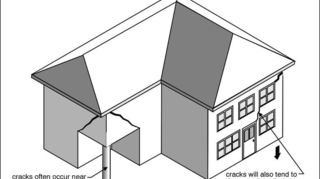 q garage falling apart, doors, garage doors, garages, home maintenance repairs, how to, windows, Common locations for cracks to appear