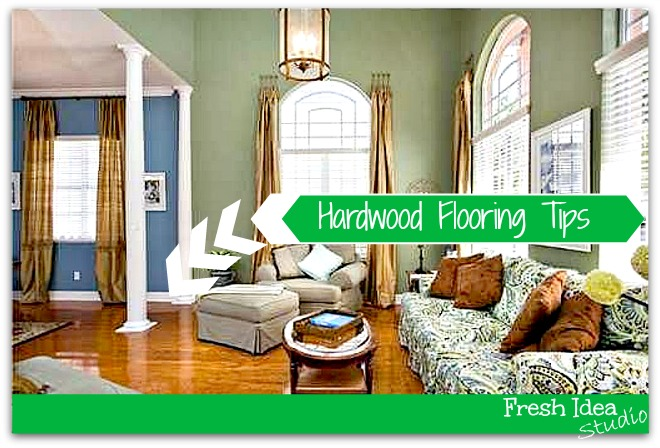 The hardwood flooring we lived on for over a decade had it's pros and cons.