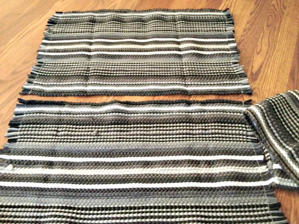4 diy rug with tassels, crafts, home decor, reupholster