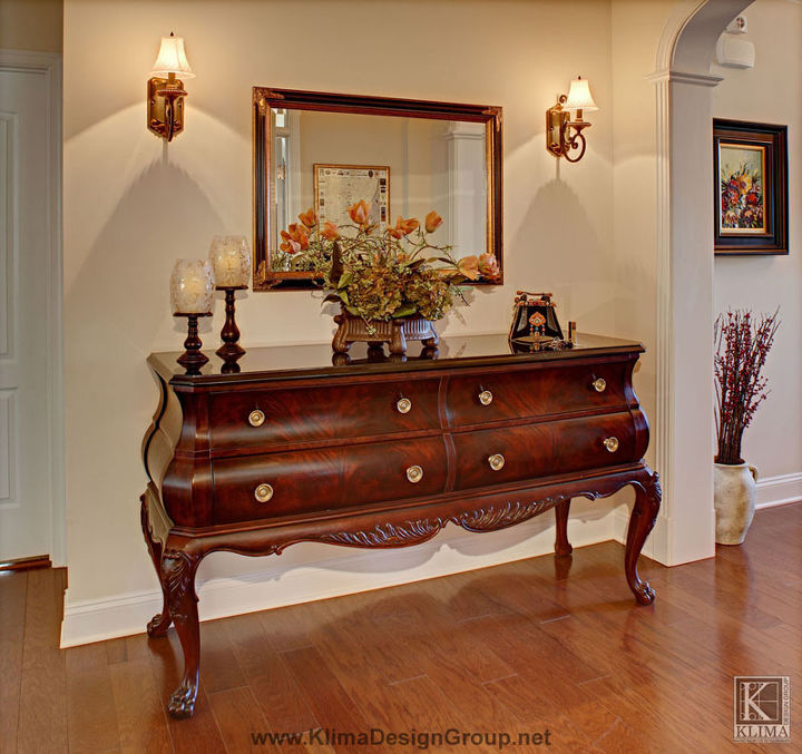 french country entry, foyer, painted furniture, entryway ideas entryway table