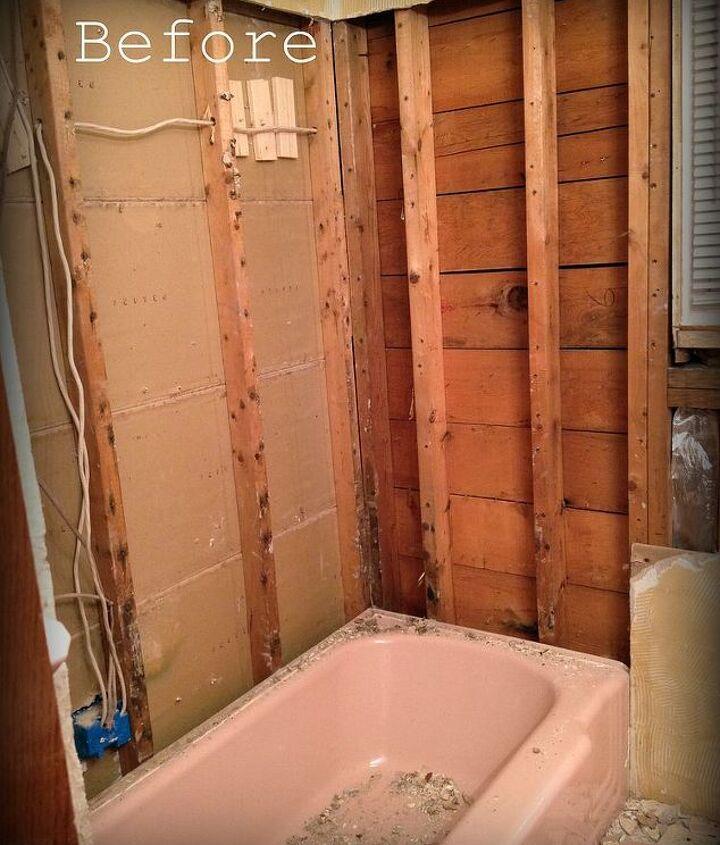shower remodel, bathroom ideas, home improvement