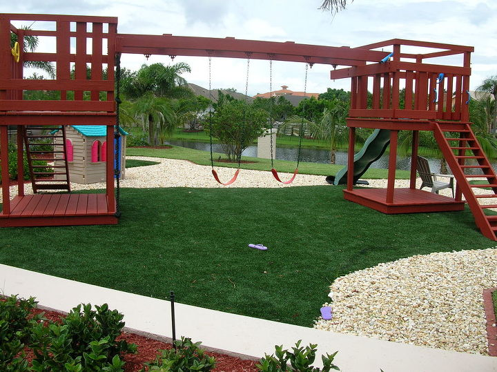 artificial grass for playgrounds, landscape, outdoor living