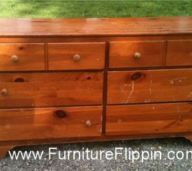 Attirant Oh So Knotty Pine Dresser Made Gorgeous, Painted Furniture, This Is How I  Found