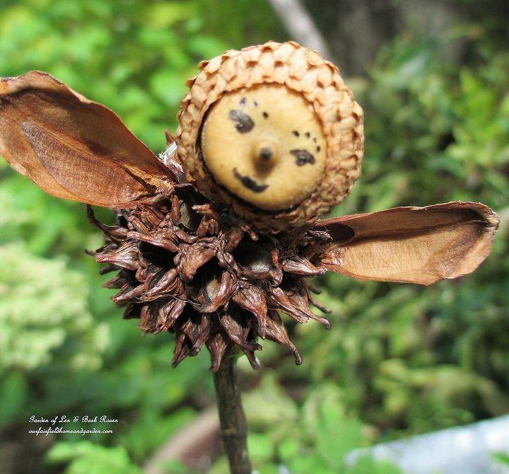 Garden Fairies from natural materials! http://www.hometalk.com/540505/make-your-own-garden-fairies