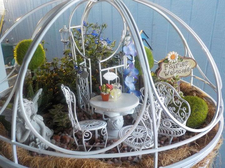 hanging basket ball, crafts, gardening