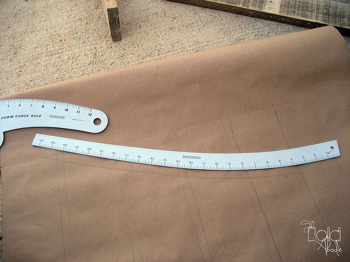 Using these pattern making rulers, just alter the lines for an interesting and unique look!